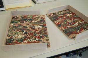 Endpaper liner