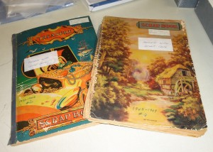 Scrapbooks 1930s and 40s
