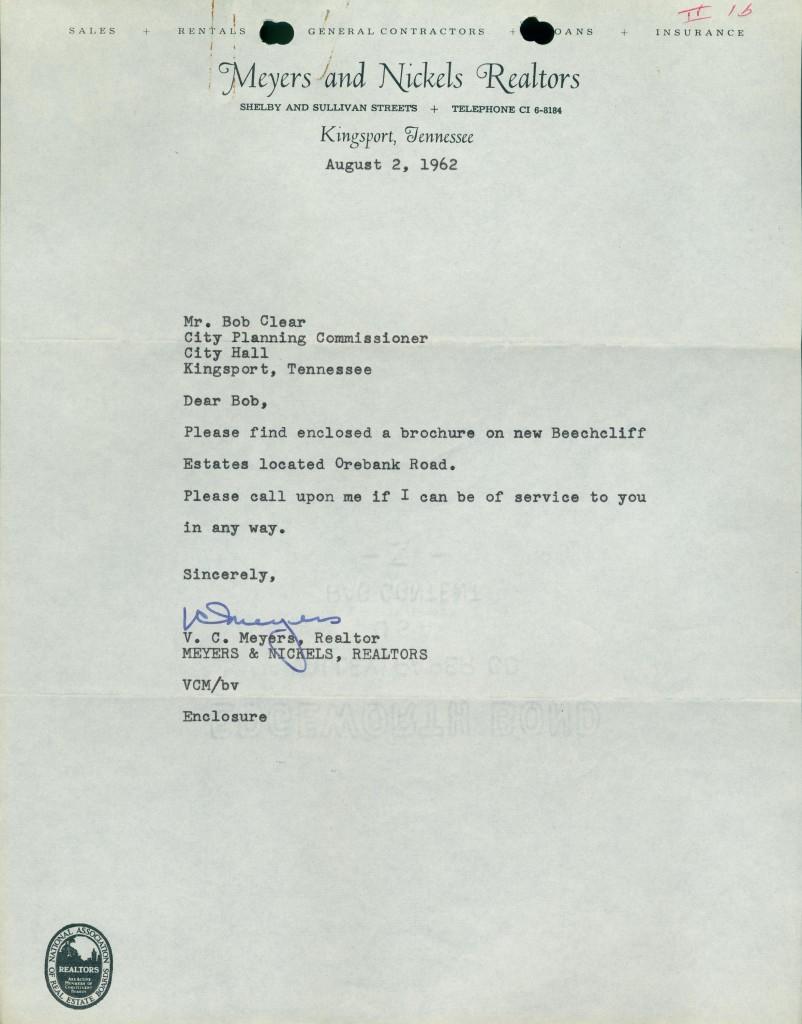 Beechcliff Letter