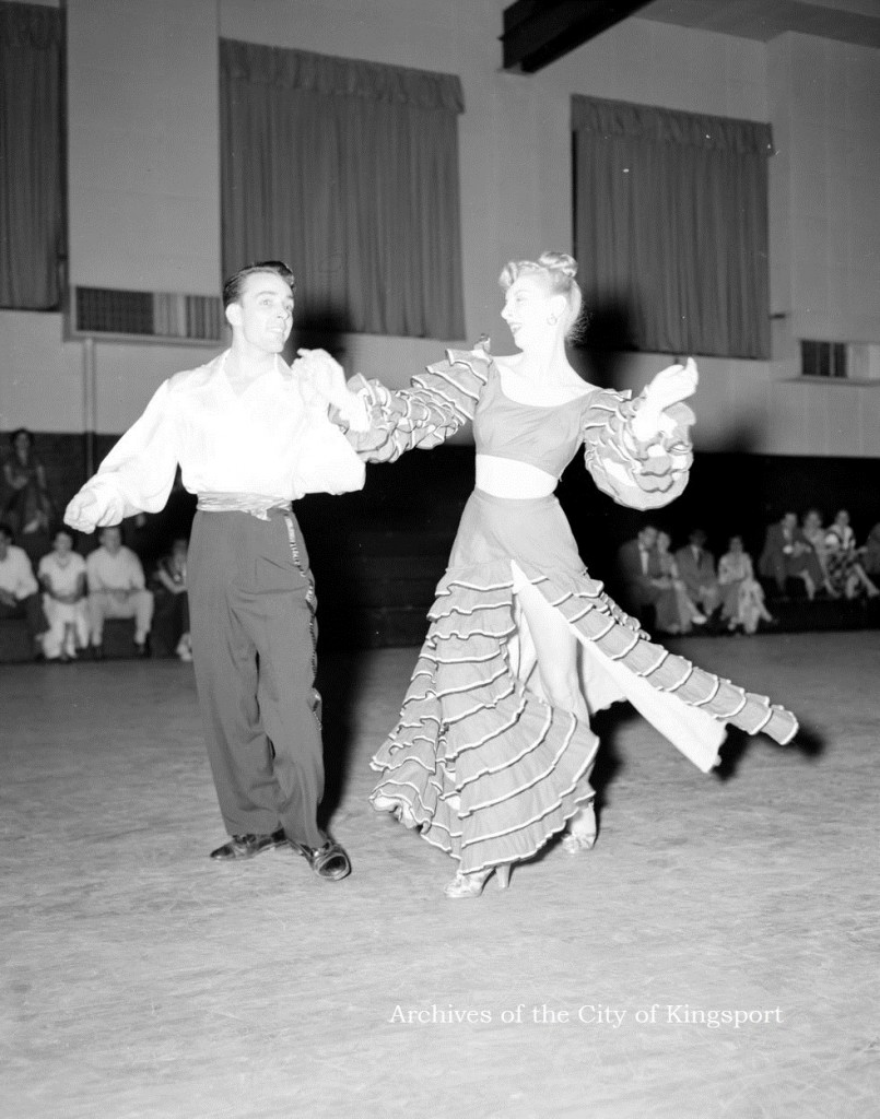 Dancers from the Newcomb Dance Studio, 1956. Thomas McNeer Jr. Collection, KCMC 106.