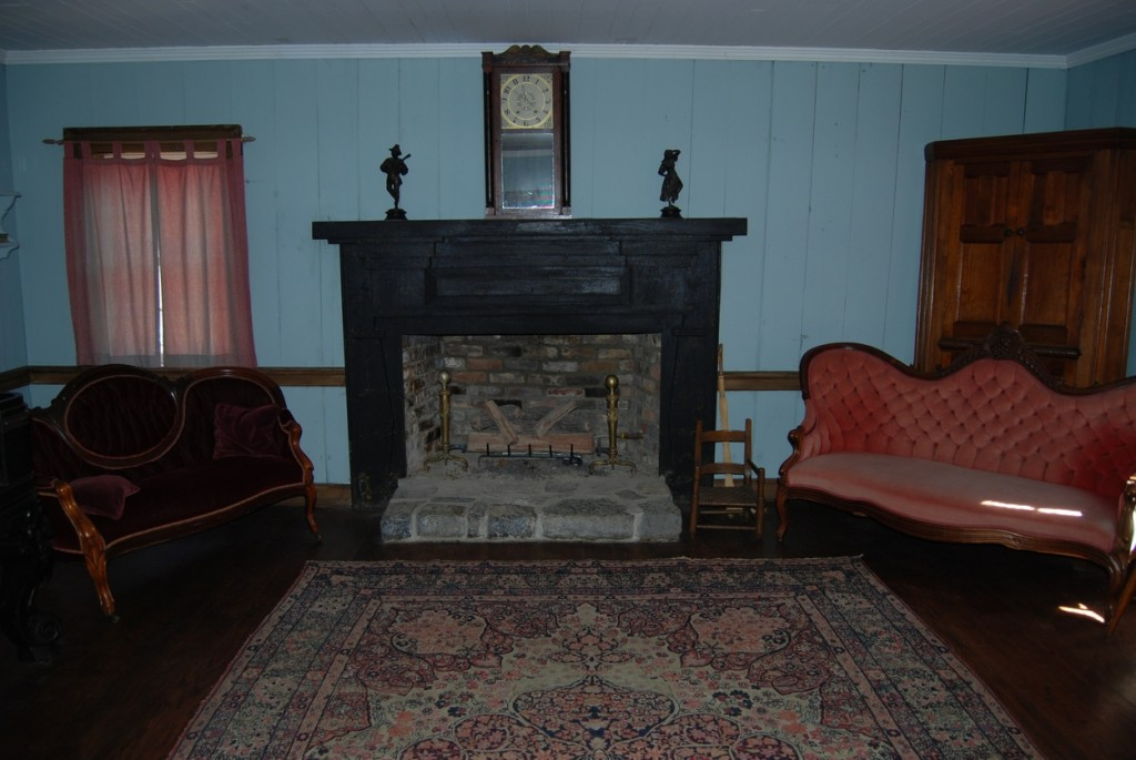 The home has been furnished with period pieces and heirlooms donated by Tipton and Haynes descendants.