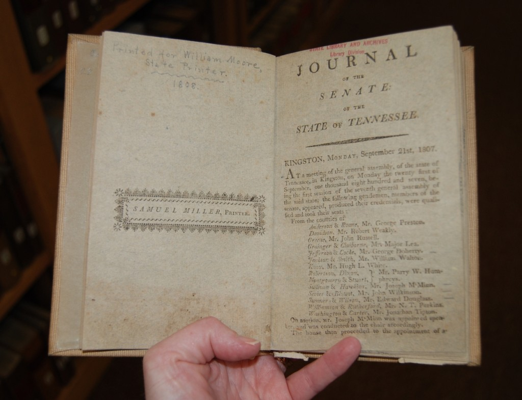 Yes, I am actually holding an original journal from 1808.