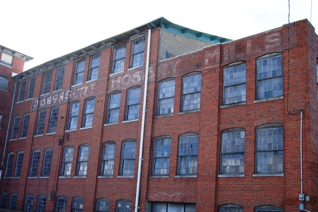 The Dobyns-Taylor Warehouse at Clinchfield and Press Streets had a former life as a mill.