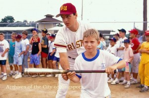 A 1989 FunFest Youth baseball Clinic