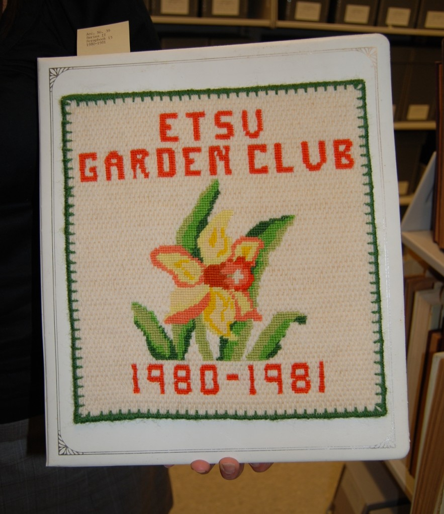 From the University's own collection, two interesting garden club albums.