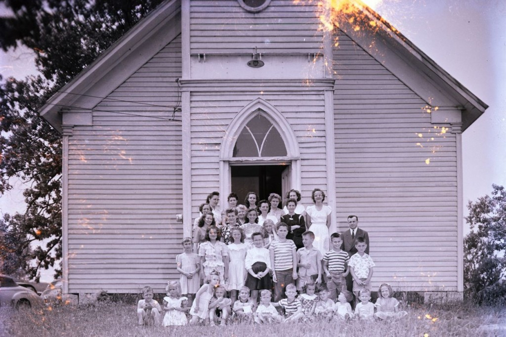 Fairfield Methodist Church students. Fairfield was located on Eastman Rd. and was a precursor to the current Mafair Methodist on Center St.