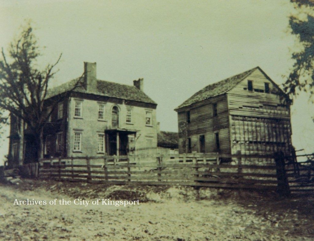 Although this photograph of the slave-built brick structure was not used in the HSSC publication, it shows how the home's architecture has changed.