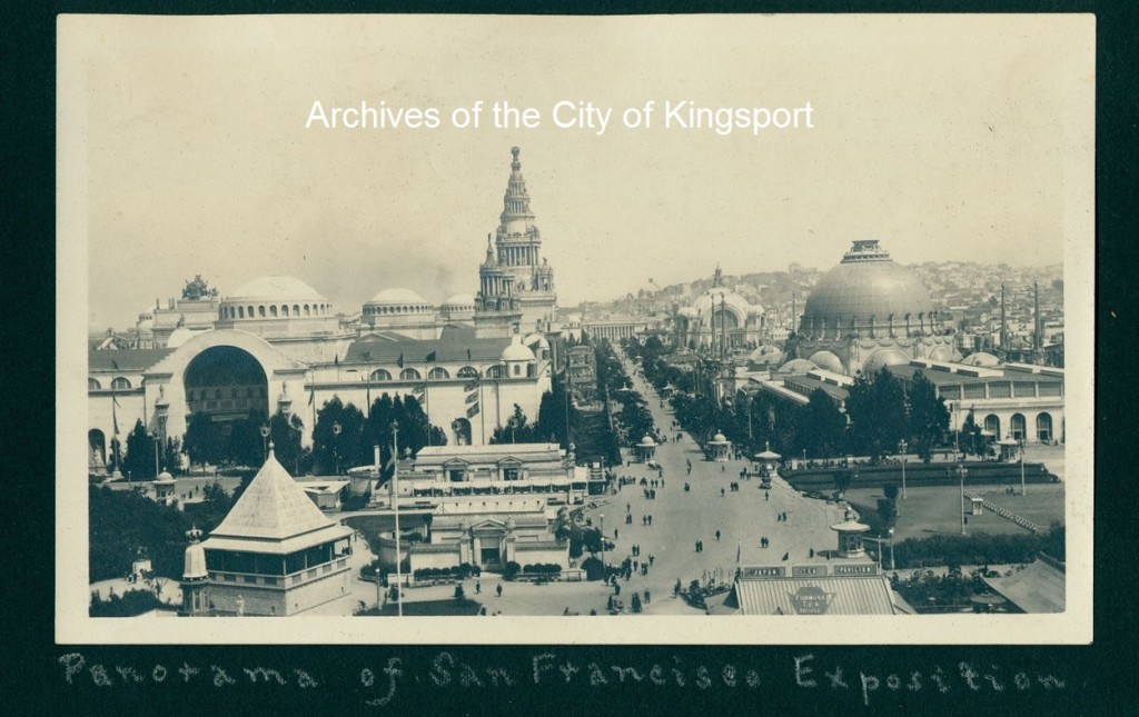 Panama-Pacific International Exposition, San Francisco, 1915.
