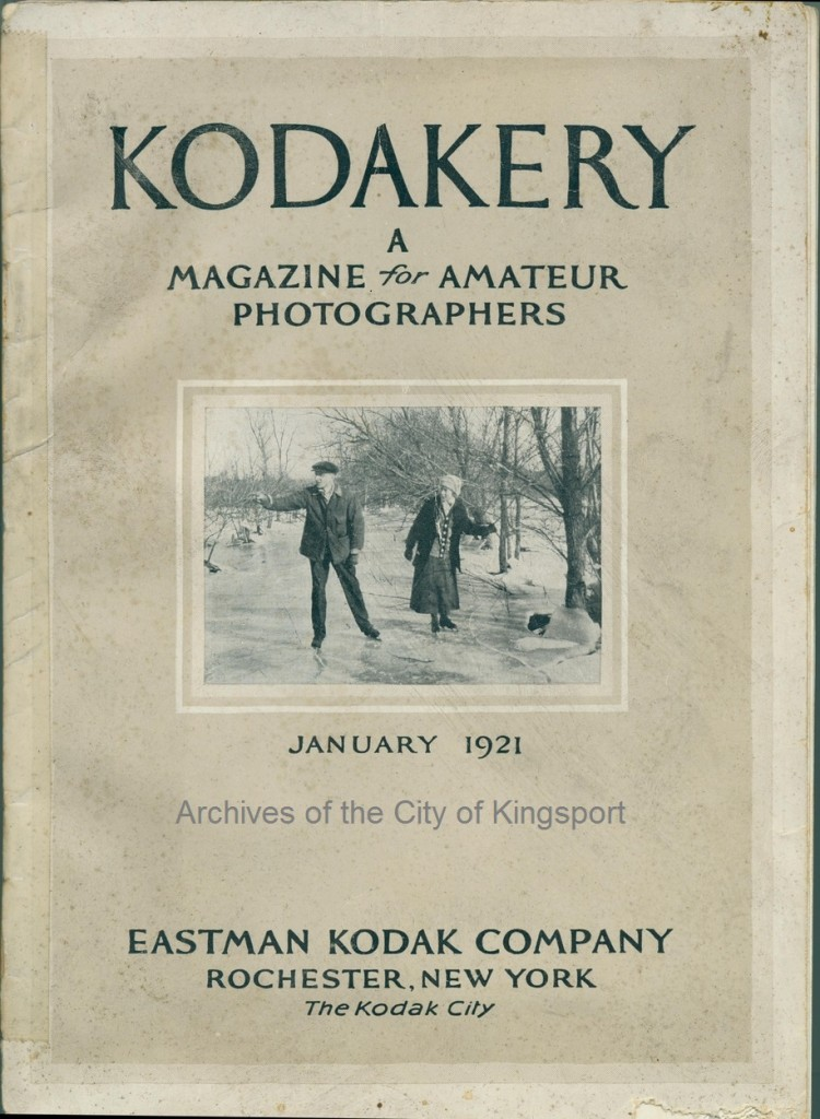 1921 edition of the photographer's magazine, Kodakery.