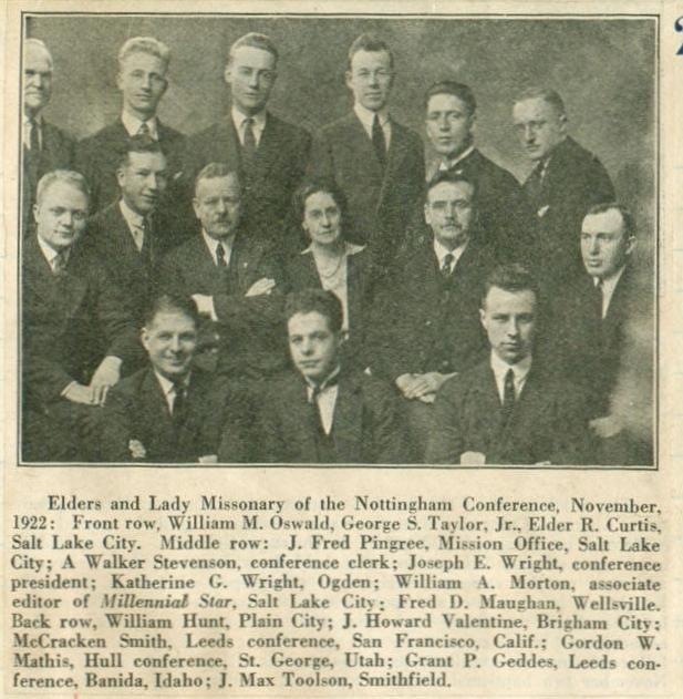 NottinghamConf1922Stevenson