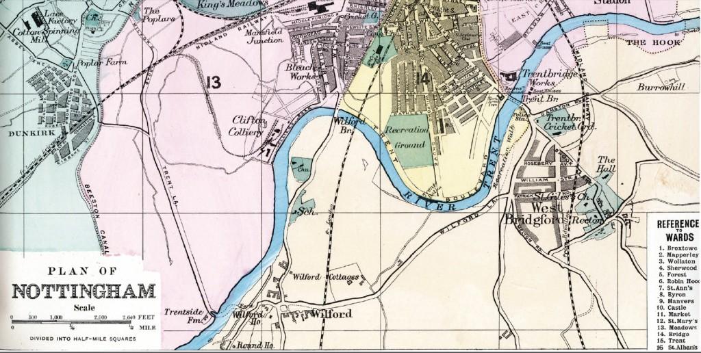 Nottinghamshire History Website