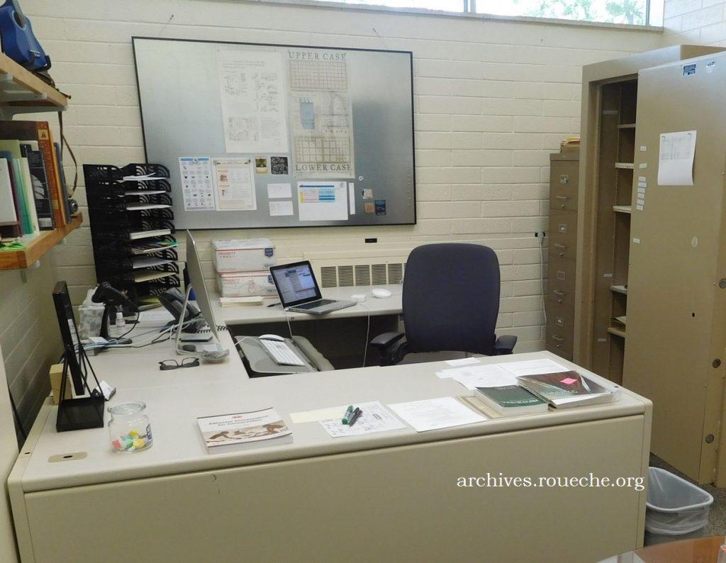 Chris' office.