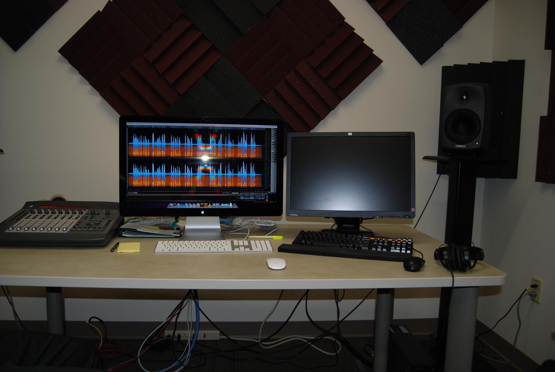 Sound/video lab