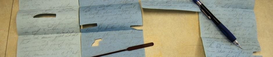 Censored letter