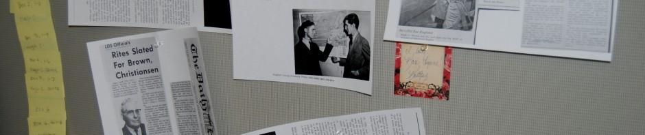 Biography wall